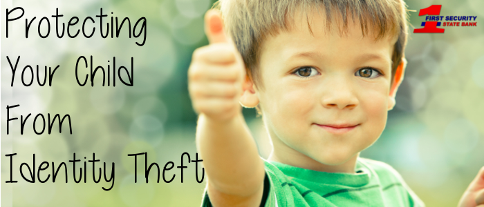 Many of us don't consider the possibility of our child's identity being stolen, making them an easy target.