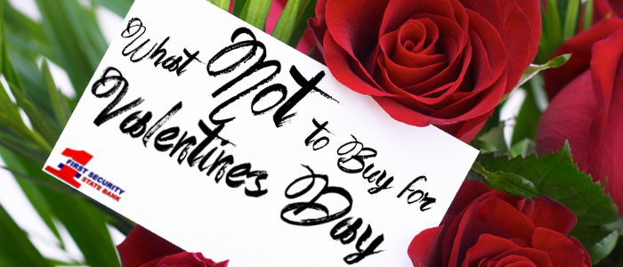 Here are some items you should NOT buy for Valentine's Day.