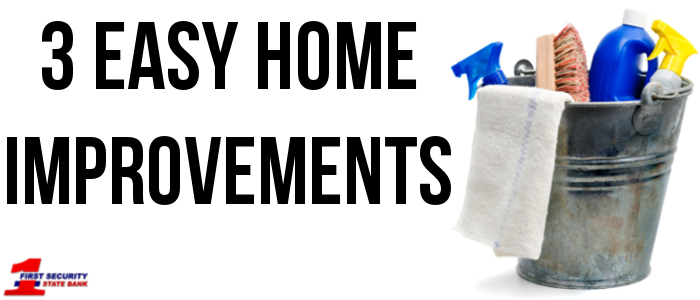Getting your house ready to go on the market doesn't need to be a huge task. Small improvements go a long ways.
