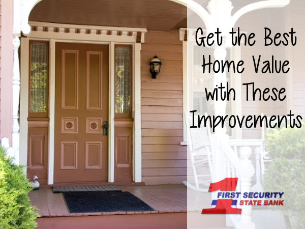A home improvement guide that can help you get the best bang for your buck when selling your home.